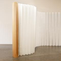 Julie Conrad Designed A Removable Flexible Room Divider Out Of Tyvek®. It  Can Be Used As A Separate Wall Or As A Fanning Out Screen.
